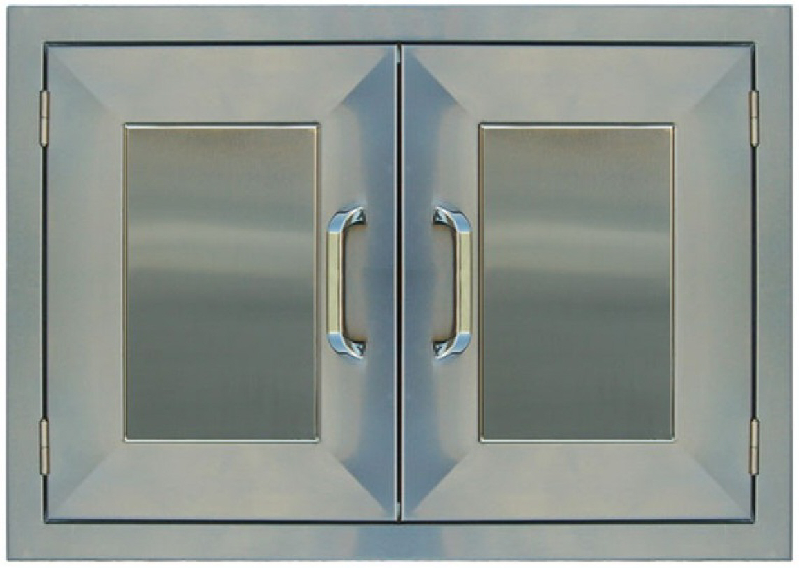 812 #546977  BBQ Island Double Access Door 30†Stainless Steel 260R Series save image Stainless Steel Entrance Doors 47371141