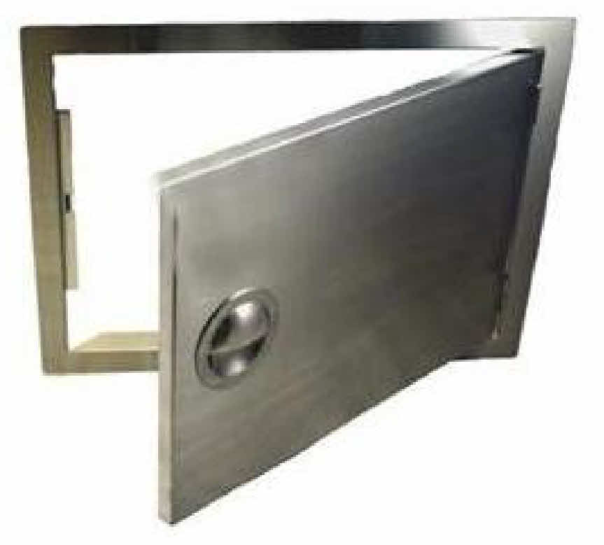 BBQ Island Access Door 14 X 20 Horizontal Stainless Steel  sc 1 st  BBQ Doors and Drawers for Barbecue island and bar & PCM Access Door 14 X 20 200 series